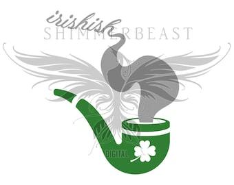 St. Patrick's Day SVG | Irishish svg | st pattys day svg | st paddys day svg | st patricks day svg | st patricks svg | irish svg | pipe svg