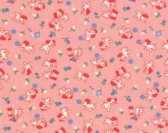 Betty's pink elephants by Moda
