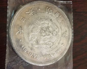 Chinese One Yen Collectible Coin