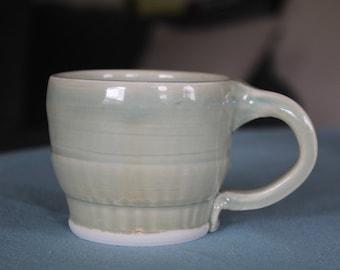 6oz Green Textured Mug