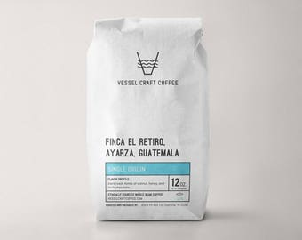 Dark Roast Coffee Guatemala | anniversary gift, groomsman gift, bridesmaids gift, wedding gift, unique gift idea, cute present, cute gift