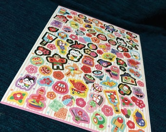 Japanese paper washi stickers manekineko origami and more