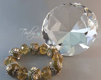 Indy kaki crystal