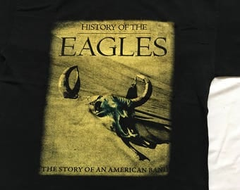 The Eagles tour shirt-History of the Eagles
