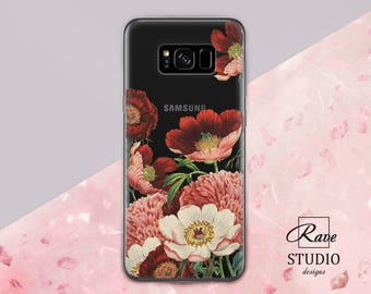 Anemone Samsung galaxy s8 Samsung Note 8 Samsung s8 plus case Clear case Galaxy s8 clear case Galaxy s8 plus clear Galaxy samsung s7 Galaxy