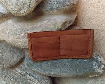 Yak Leather Fold Wallet