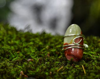 Large Mookaite Ring**20% OFF**