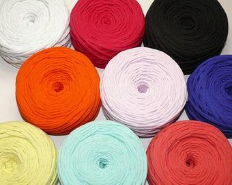T-Shirt yarn, Spaghetti yarn, Fabric yarn, Trapillo, Zpagetti yarn, Cotton yarn, TShirt yarn, Tee shirt yarn, Jersey yarn, Tshirt yarn bag