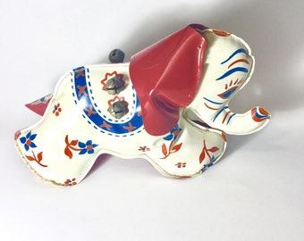 Vintage Elephant Toy