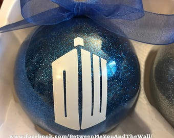 Doctor Who inspired Ornament