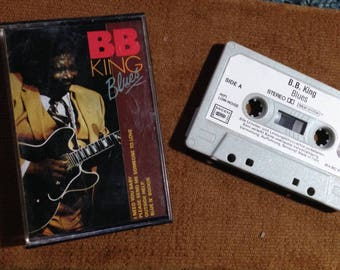 BB King Blues audio cassette tape made in Holland / Italy