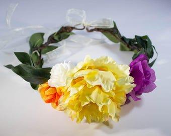 Midsummer Boho Flower Crown
