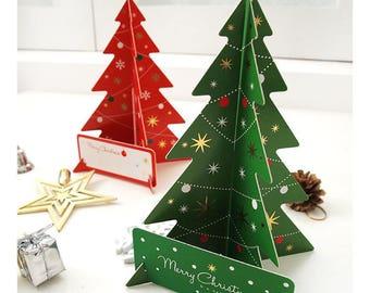 Christmas greeting card / christmas tree/christmas decor / gift idea