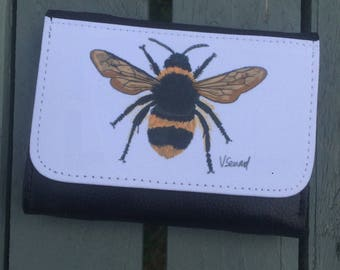 Bumblebee bee purse gift idea gift for her