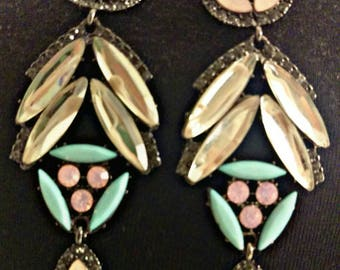 Vintage 1980's Berry brand earrings (REDUCED)