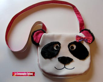 Petersburg panda bag purse