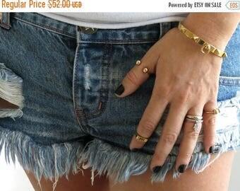 SPRING SALE Gold bangle bracelet, gold plated bracelet, statement bangle bracelet, stacking bracelet, modern bracelet,  gold cuff bracelet