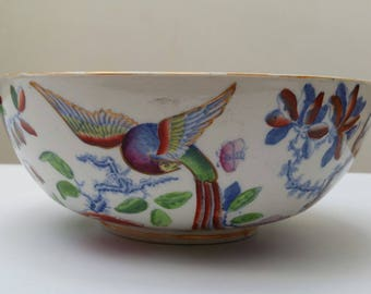 Mason Ironstone bowl - Flying Bird
