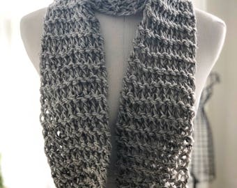 Marble Scarf with Fringe