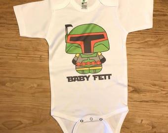 Boba Fett Baby Etsy
