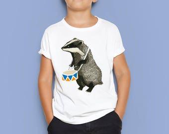 Badger baby T-shirt, Badger toddler T-shirt, Badger kid T-shirt, Badger baby, Badger toddler, Badger kid, Custom baby T-shirt, Baby gift