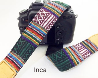 Selected promotion discounted item,NuovoDesign Tribal collection (Many patterns available) camera strap for DSLR and mirrorless