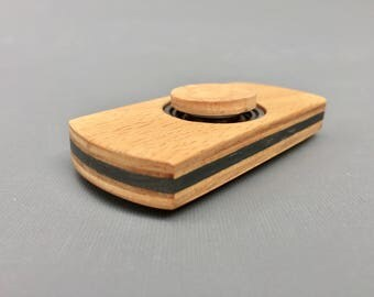 Wood Fidget Spinner Etsy