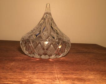 Hershey kisses candy dish