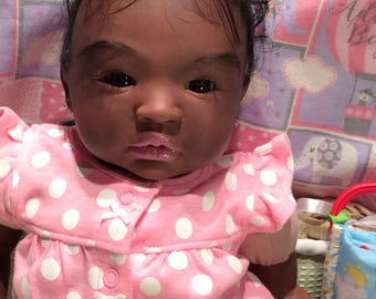 AA Ethnic Reborn baby girl - Shyann kit.  Payment plan available