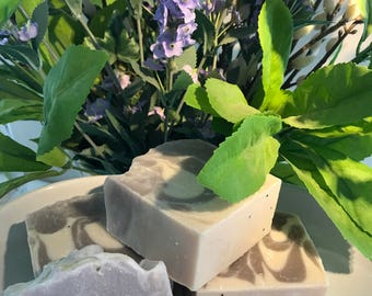 Handmade Lavender Soap   Cold Process Soap  Old Fashioned Soap