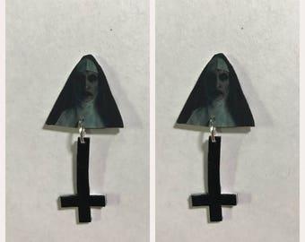 Valak demon Conjuring earrings