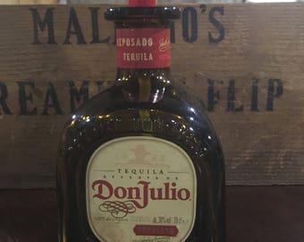 Soap dispenser tequila don julio