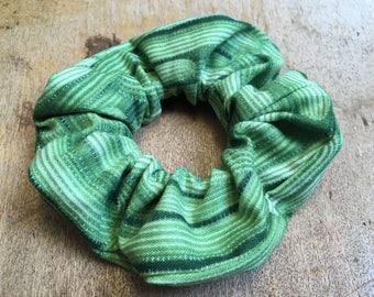 Hair Scrunchie Handmade Retro Cactus Print Fabric Christmas Stocking Filler