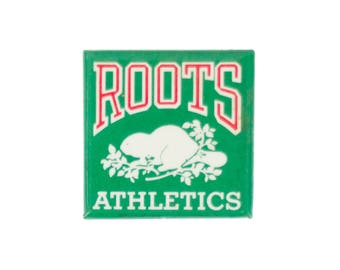 "1.5"" Roots Athletics Square pin"