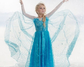 Frozen dress, Elsa dress for Toddlers, girls
