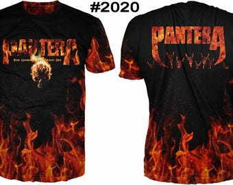 New ultramodern 3D  High Quality  Print Fans  short Sleeve t-shirt Pantera