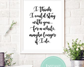 I think I could stay with you, for a while maybe longer if I do | Pure Prairie League Lyrics | Aime Song Lyrics | Song Lyric Printable | Amy