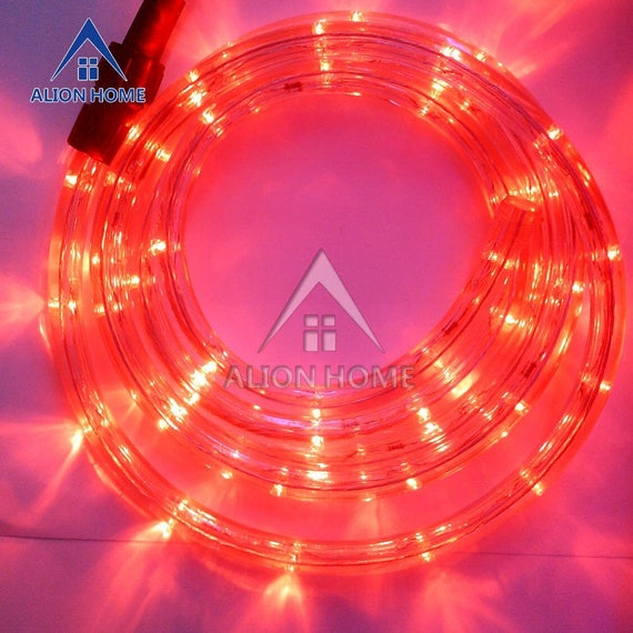 Custom sized custom length led rope lights for patio custom sized custom length led rope lights for patio backyard eaves roofs windows or business etc red aloadofball