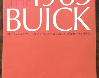 The 1963 Buick Sales Brochure