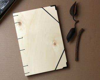 Wooden notebook / Handmade notebook/ Wooden Notebook/ Recycled notebook / Handmade notebook / Coptic Binding / Binding / Notebook / Notebook