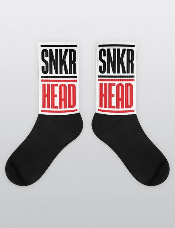 SNKR HEAD | Unisex Cotton Blend Socks