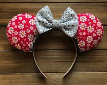 Daisy Flower & Garden Ears
