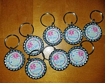 Medical alert key chains