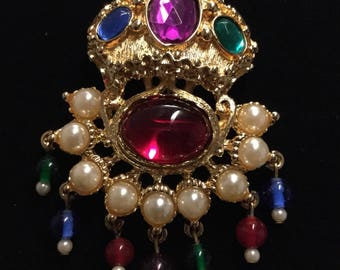 KENNETH  LANE Taj Mahal Brooch