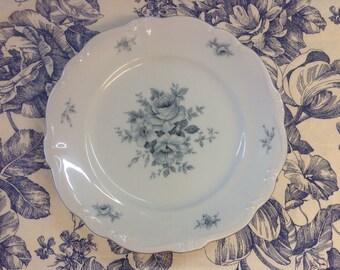 Johann Haviland Blue Boquet Plates