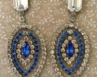Chandelier Earrings - Vintage | Etsy UK