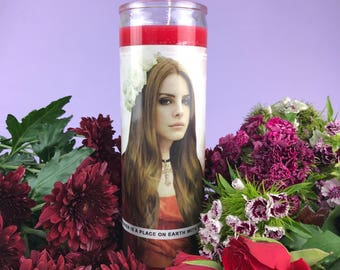 Saint Lana | Lana Del Rey Prayer Candle