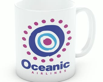 Oceanic Airlines Mug | Coffee Mug | Tea Cup | Inspired By Lost | Oceanic Airlines Gift