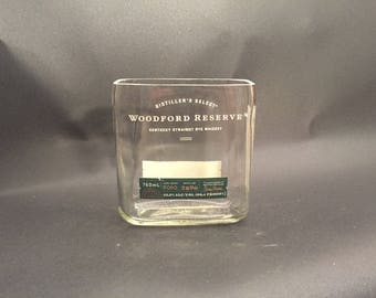 Woodford Reserve Candle Rye Whiskey BOTTLE Soy Candle. 750ML. Made to Order !!!!!