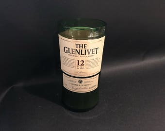 1 Liter vs 750ML  The Glenlivet 12 Year Scotch Whiskey Soy Candle. Made To Order !!!!!!!
